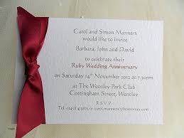 anniversary cards matter for 25th anniversary invitation card lovely ruby wedding invitation cards gallery party