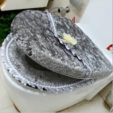crochet toilet seat cover 1 set 3pc fancy happy santa toilet seat cover rug bathroom set