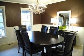 creative decorating home ideas with dining room paint color ideas with chair rail a66f in modern home decor ideas with dining