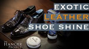 How to Polish Reptile Leather <b>Shoes</b> | Exotic Leather <b>Shoe</b> Care ...