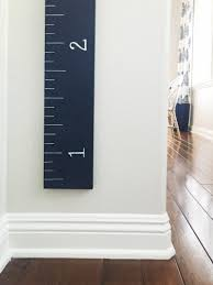 Diy Height Chart Diy Growth Chart Ruler A Thoughtful Place