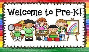Image result for pre-kindergarten registration