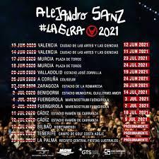Concierto de Alejandro Sanz en Zaragoza (Aplazado). Comprar Entradas.