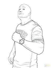 Wwe Coloring Pages John Cena Coloring Pages Wrestler John Printable