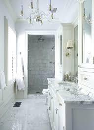 Marble Master Bathroom Thesynergistsorg Simple Carrara Marble Bathroom Designs