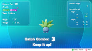 Pokemon Lets Go Catch Combo Guide How To Find Shiny