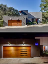 inspirational examples of modern garage doors  contemporist