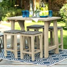 high patio table counter height patio furniture with teak high patio chairs and teak table medium high patio table