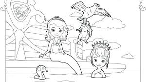 Princess Sofia The First Coloring Pages Coloring Pages Ideas