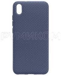 <b>Пластиковый бампер New</b> Color для Xiaomi Redmi 7A (синий ...