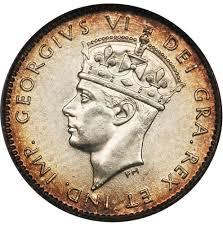 5 Cents George Vi Newfoundland Numista