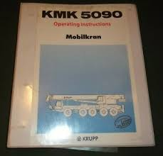 Krupp Kmk 6200 Load Chart Grove Kmk 4060 Crane Operator Operation Maintenance Manual