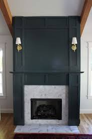 faux fireplace surround and diy fireplace surround
