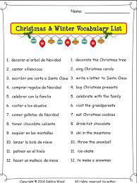 Spanish Christmas Worksheets Free Worksheets Library | Download ...