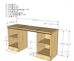Perfect Computer Desk Plans 25 Best Ideas About Desk Plans On Pinterest  Woodworking Desk