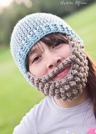 Beard Hat Crochet Pattern Cool Crochet Bobble Beard Pattern Multiple Sizes Ashlee Marie Real