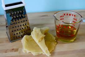 Amber Dusick How to Make Beeswax Wood Polish woodmouse recipe
