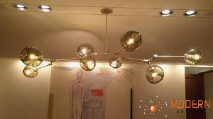 furniture branching bubble modern chandelier glass light revit fixture large diy ball branching bubble modern