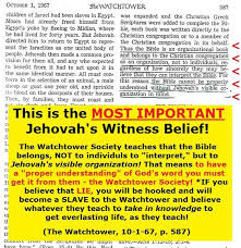 Jehovah witness dating beliefs