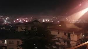 Capodanno 2020 a Napoli dalla collina del Vomero - YouTube