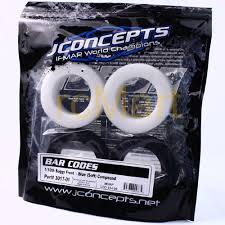 Jconcepts 3017 01 Bar Codes Tire Soft Blue Compound For 1 10 Buggy F