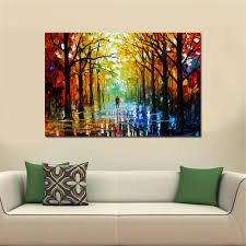 frameless huge wall art oil painting on canvas forest road wall decor home decoration oil painting oil painting on canvas wall decor online with 6 13 piece  on large art oil painting wall decor canvas with frameless huge wall art oil painting on canvas forest road wall