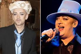 boy george 2014 weight loss. Plain 2014 Boy George At The Whatsonstagecom Awards And Royal Albert Hall In  May Inside 2014 Weight Loss T
