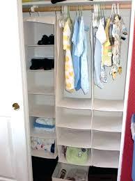 stackable closet shelves munchkin 6 shelf organizer target simple bedroom organizers baby white fabric hanging whitmor