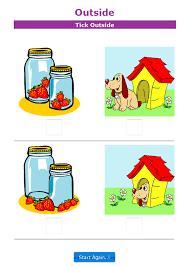 Position Worksheets For Kindergarten & positional worksheets the ...