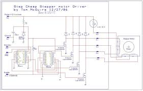 picture of easy to build cnc mill stepper motor and driver circuits