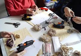 Текстильная многослойная брошь в стиле Бохо Отчет Ярмарка  мастер класс текстильная брошь текстильные украшения