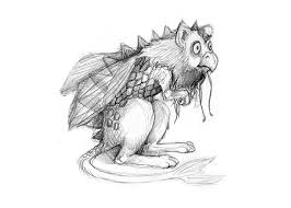 Image result for mythical monster drawings