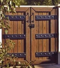 Small Picture side house gates Gorgeous Italian wood side gate For the Home
