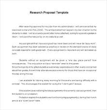Work From Home Proposal Template Research Format Doc Unique Project