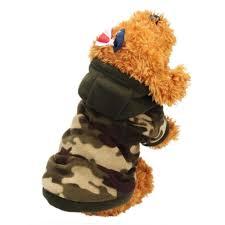 binmer tm puppy dog pet warm sweater clothes hoo shirt puppy autumn winter coat doggy fashion jumpsuit apparel