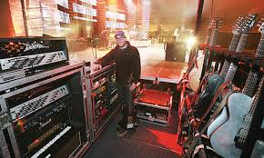 Guitar Technician Guitar Tech Paul Spencer Muse Photo Gallery