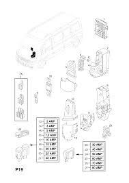 Opel Movano A 1999 2010 P Electrical 9 Fuse Box 4