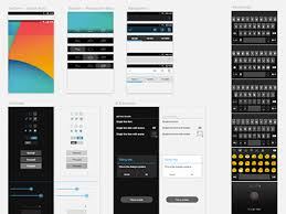 Android Gui Template Sketch Freebie Download Free Resource For