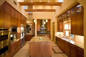 contemporary maple veneer kitchen