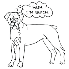 Boxer Dog Coloring Pages Boxer Coloring Pages Boxer Dog Coloring