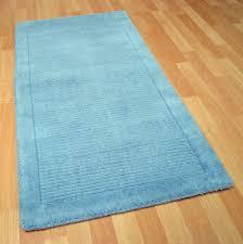 duck egg blue runner rugs