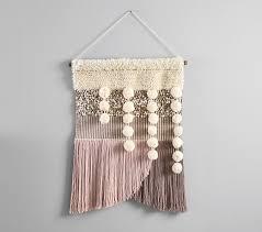 west elm x pbk blush woven wall