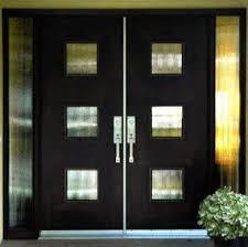 modern front double doors. Contemporary Double Door With Glass \u0026 Sidelites This Custom Revels In Mid-century Retro Modern Front Doors X