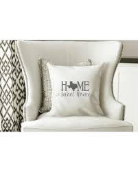 deals on texas pillow cover texas state decor texas housewarming