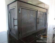 L Shaped Doors | Custom Fireplace Doors in California & Arizona ...