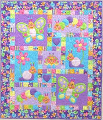Bugsy - by Kids Quilts - Patchwork & Quilting ... & Bugsy - by Kids Quilts - Patchwork & Quilting Pattern - Girls butterfly quilt  pattern Adamdwight.com