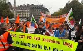 """Résultat de recherche d'images pour """"manifestations 10 octobre"""""""