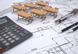Drawing The Arrangement Furniture And Tools Engineer 3d