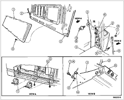 rear window 80 96 ford bronco 66 96 ford broncos early & full size  at Wiring Diagram For Rear Window Full Size Bronco