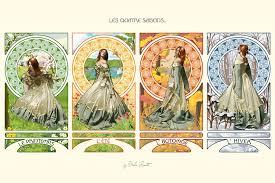 the four seasons by zhaana
